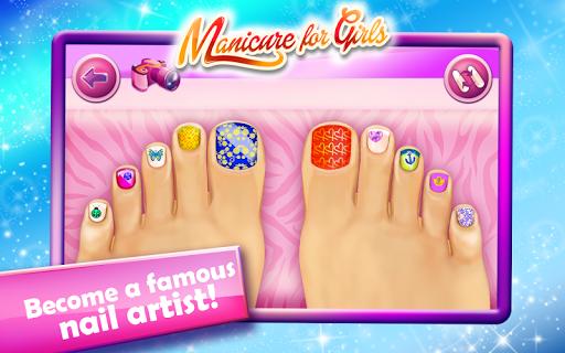 Nail Salon-Manicure for Girls