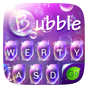 Download Bubble GO Keyboard Theme Emoji For PC Windows and Mac