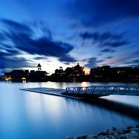 Believe in ONE by Zackri Zim's - Landscapes Waterscapes ( zackri zim's, d3000, vertorama, putrajaya, pullman putrajaya, malaysia, nikon, longexposure, kitlens )