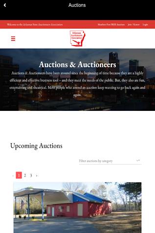ARK Auctions Screenshot