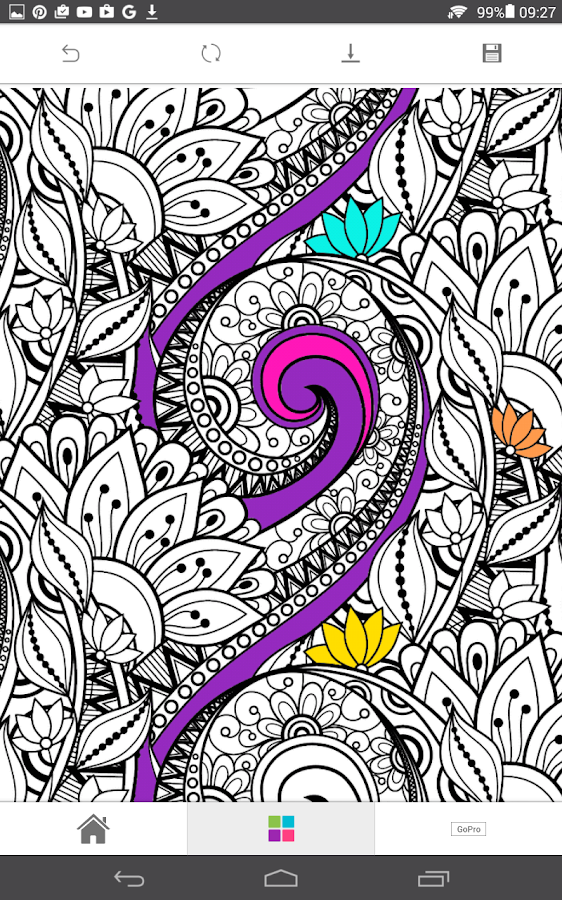 ColourGo - Coloring book Screenshot 15