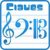 Claves - as notas na pauta