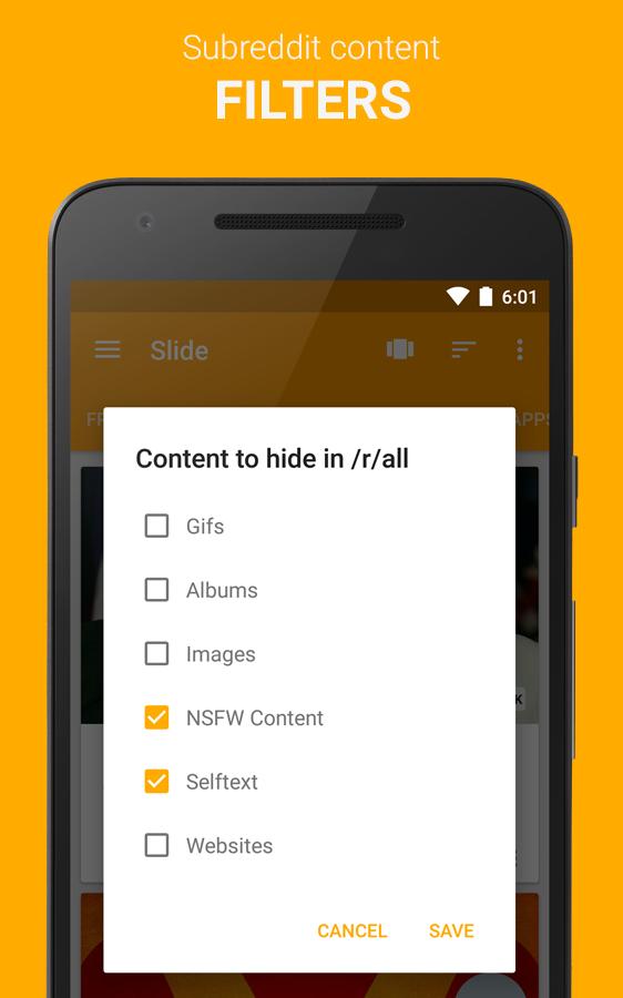 Slide for Reddit Screenshot 3