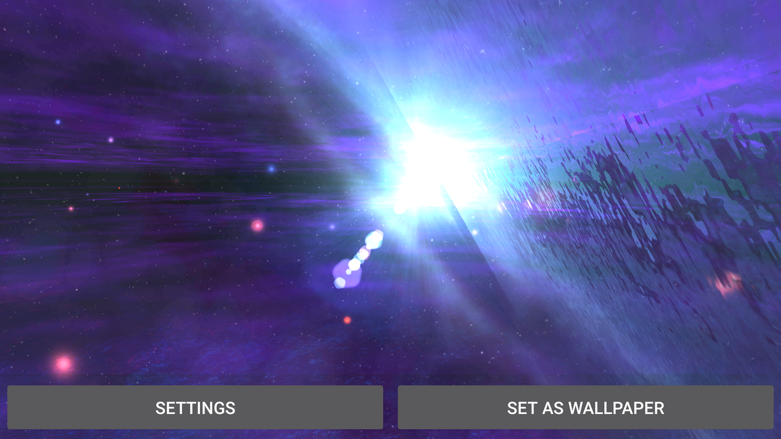 Alien Galaxy 3D Live Wallpaper Screenshot 11