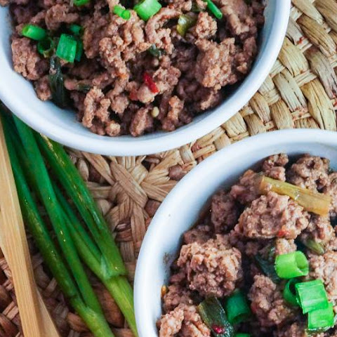 Healthy Mongolian Ground Beef