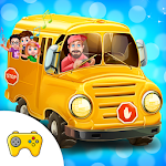 My Little Driver School Bus Icon