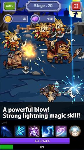 Lightning Magician Clicker