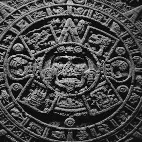 Calendar by Valentina Cantera - Artistic Objects Antiques ( calendar, rock, mexico, art, museum, latin america, antique, azteca, tradition, mexican, wall, maya )