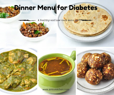 A HEALTHY AND TASTY DINNER MENU FOR DIABETES