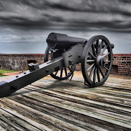 2013-P4217383 by Ross Boyd - Landscapes Travel ( s.c, civil war, travel, historical, cannon )