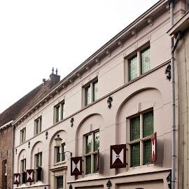 Flehite museum, Amersfoort by Anita Berghoef - Buildings & Architecture Public & Historical ( doors, amersfoort, flehite, building, window, facade, the netherlands, door, windows, museum, architecture )