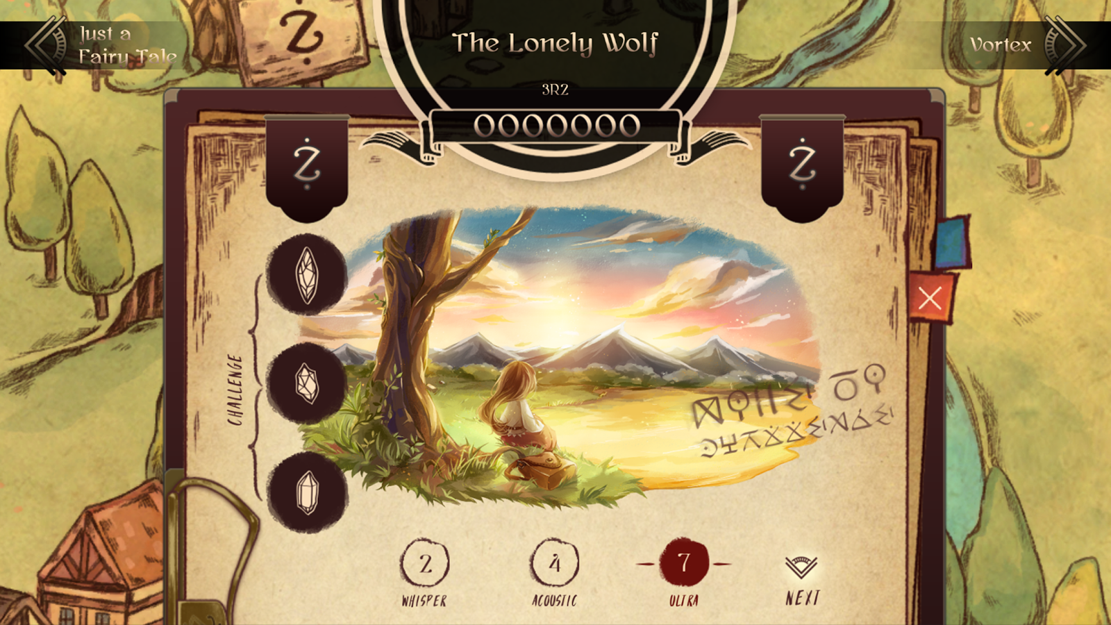 Lanota Screenshot 1