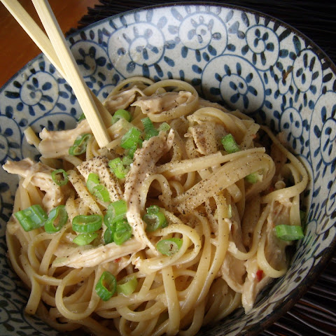 Spicy Sesame Noodles with Chicken