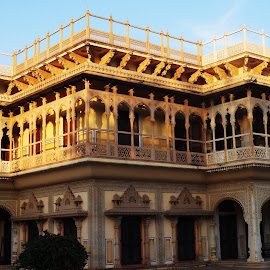 palace in jaipur by Nagaraj Kukke - Buildings & Architecture Public & Historical ( jaipur, fort, palace )