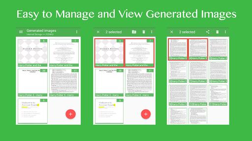 X2IMG Pro - Convert PDF to JPG - screenshot