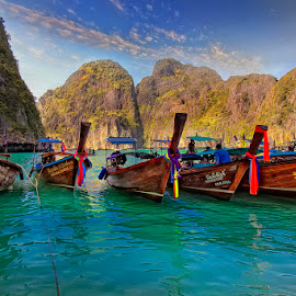 by Marina Danic - Transportation Boats