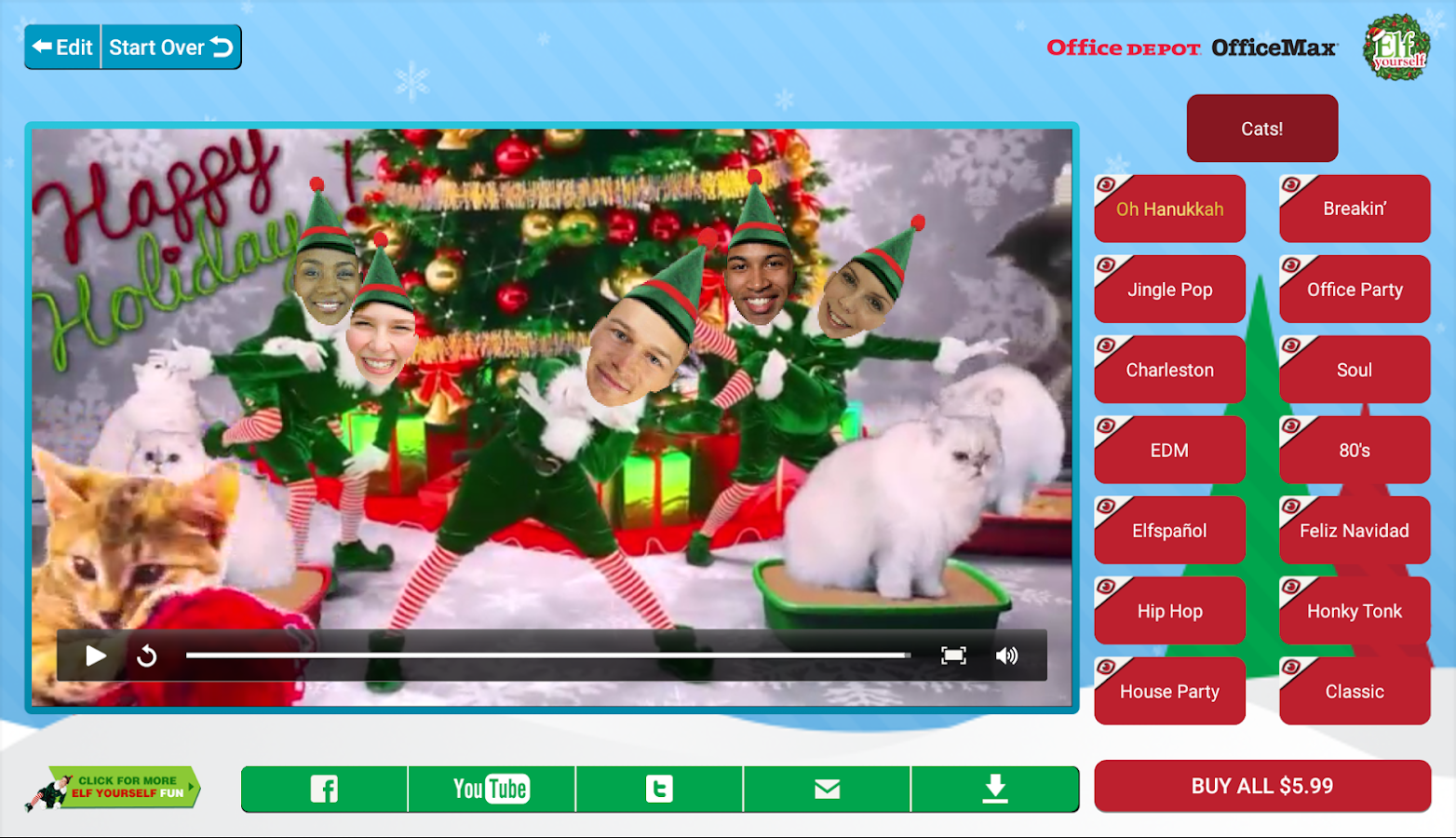 Elfyourself porno exploited movie