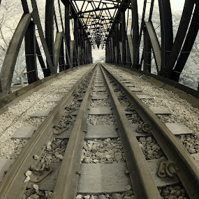 The Malayan Railway Bridge by Alit  Apriyana - Buildings & Architecture Bridges & Suspended Structures
