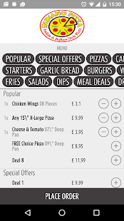 Indiano Pizza London - screenshot