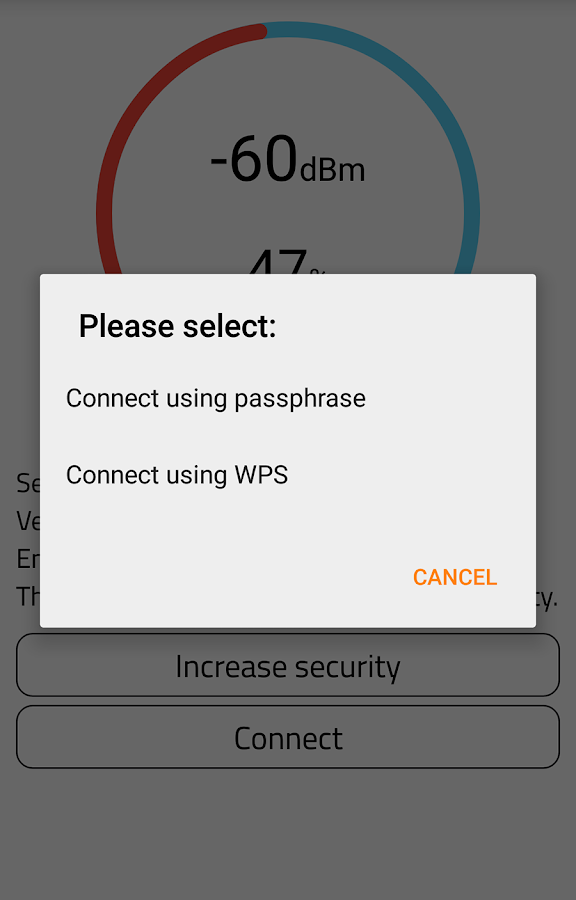 WiFi Warden ( WPS Connect ) Screenshot 4