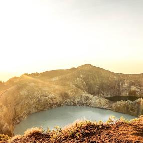 Kelimutu Lake by Josef Farianto - Landscapes Travel ( ende, flores, kelimutu, kelumutu )