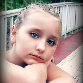 my beautiful daughter by Crystal Hulskotter - Babies & Children Child Portraits