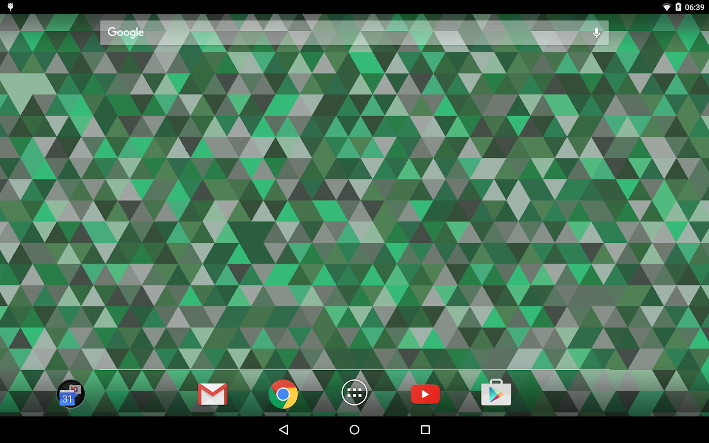 Triangles Live Wallpaper Screenshot 7