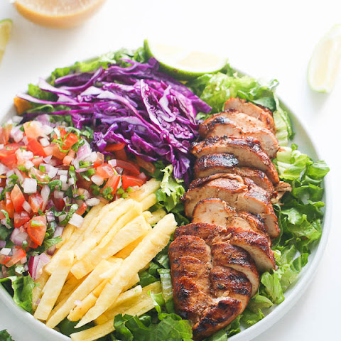 Caribbean Grilled Chicken Salad