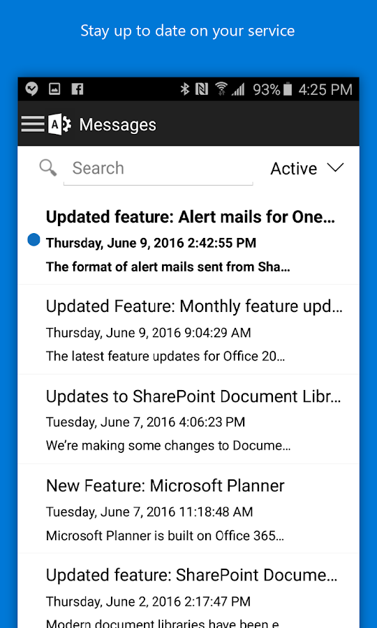 Office 365 Admin Screenshot 1