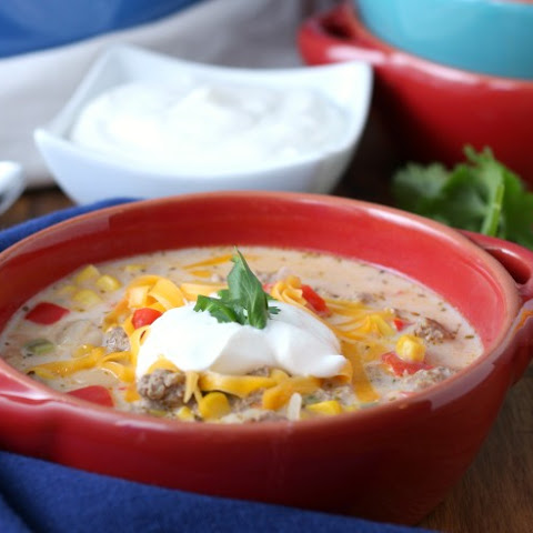 Loaded White Turkey Chili