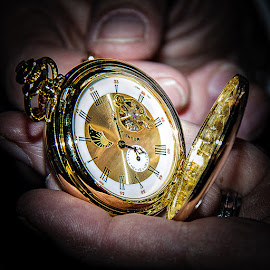 Pocket Watch by Mandy Hedley - Artistic Objects Antiques ( time, pocket, pointers, jewellery, watch, gold )