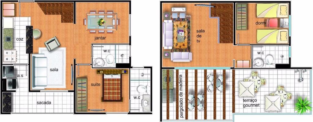 Apartamento à Venda - Parque Continental