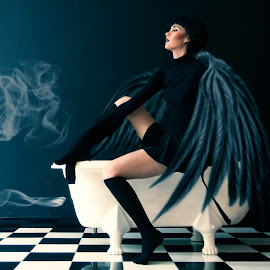 The Angel Within by Rullyanto Wibisono - People Fashion