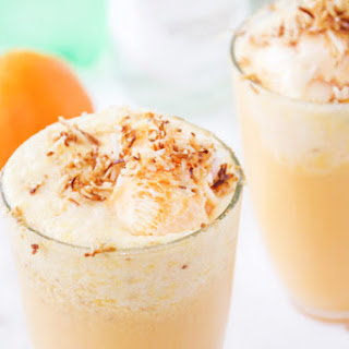 Malibu Sherbert Floats