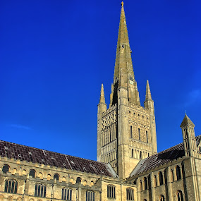 Norwich Cathedral by Bob White - Buildings & Architecture Places of Worship ( religion, norwich, cathedral, worship, religious )