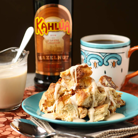 Kahlúa Bread Pudding