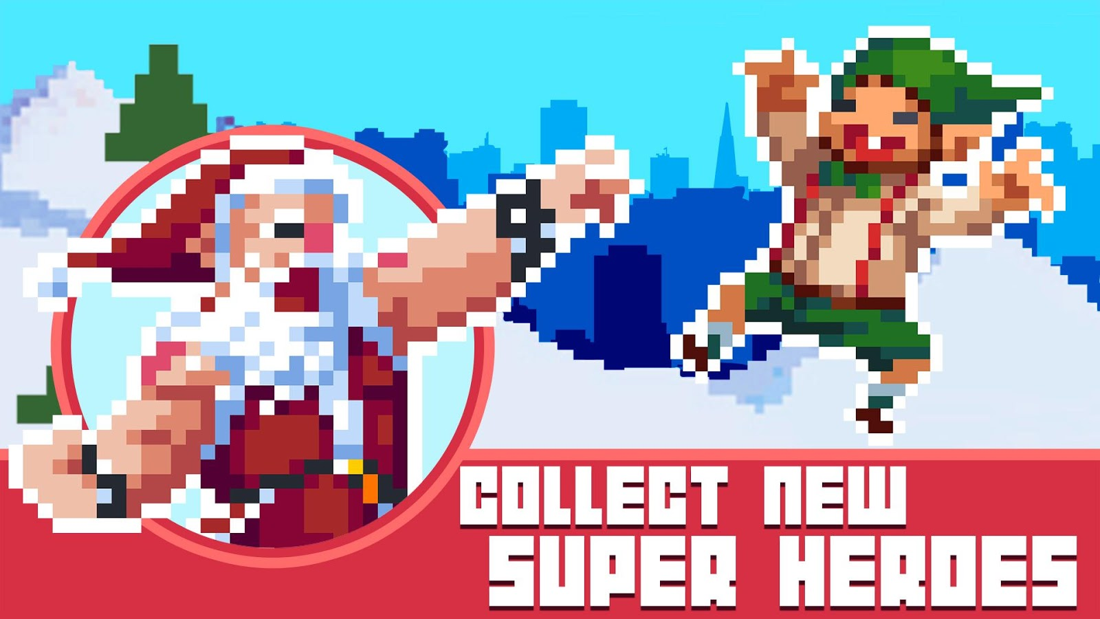 Pixel Super Heroes Screenshot