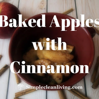 Baked Apples with Cinnamon