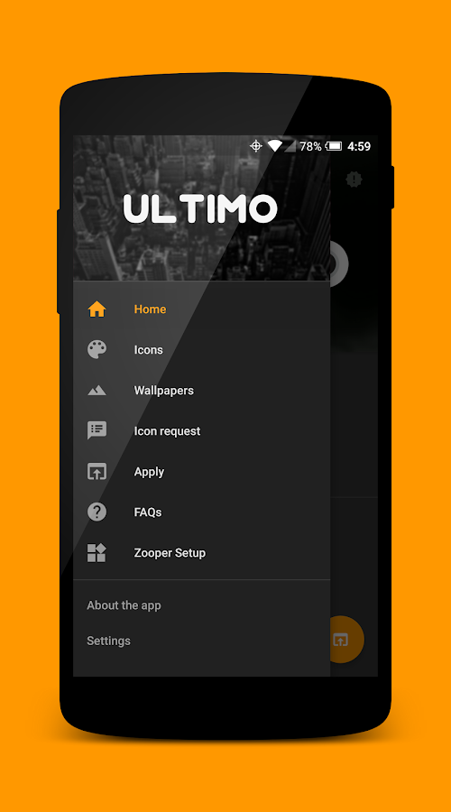 Ultimo Icon Theme Screenshot 1