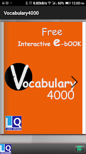 Vocabulary 4000 - screenshot