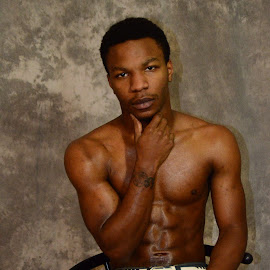 The Black Male 2 by Marcus Robinson Photos - People Portraits of Men