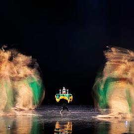 SERIMPI DANCE by Aad S. Ahmad - People Musicians & Entertainers