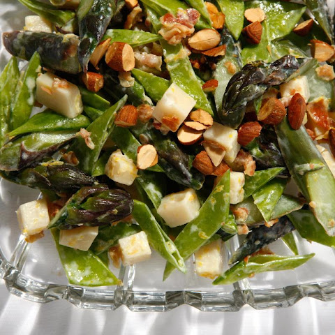 Patricia Wells's Crunchy Asparagus and Snow Pea Salad