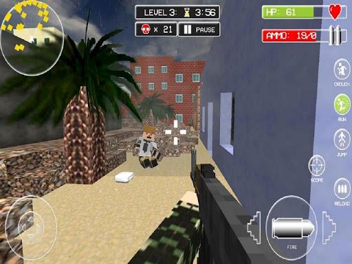 American Block Sniper Survival - screenshot