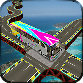Download Full Impossible Bus Simulator Tracks Driving 1.0 APK