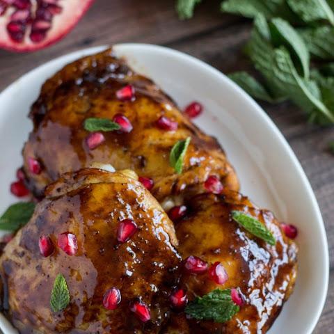 Duck Breast With Pomegranate-Citrus Glaze Recipes — Dishmaps