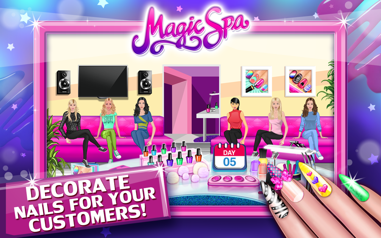 Nail Salon & Toenail Magic Spa Screenshot 1