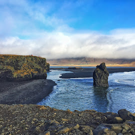 South Coast, Iceland by Tara Bauman - Landscapes Travel ( iceland, black sand beach )