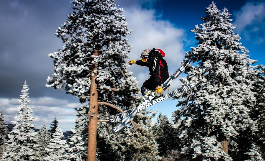 Grabbing Some by Jay Woolwine Photography - Sports & Fitness Snow Sports ( snowboard, ski, snow summit, action )