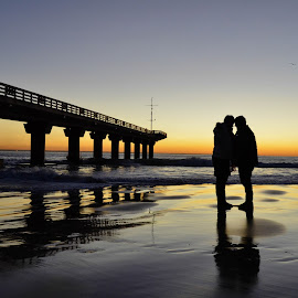 Sunrise by Monique Fouche - People Couples